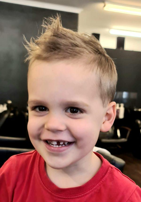 Zig Zag Hair Design - Boys Cut Style Kids
