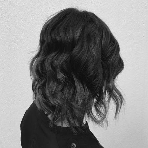 Zig Zag Hair Design - Ladies Medium Style and Cut