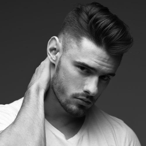 Zig Zag Hair Design - Mens Style Cut