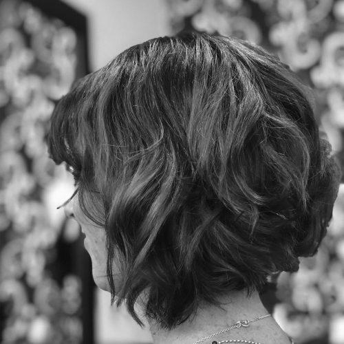 Zig Zag Hair Design - Ladies Short Style and Cut