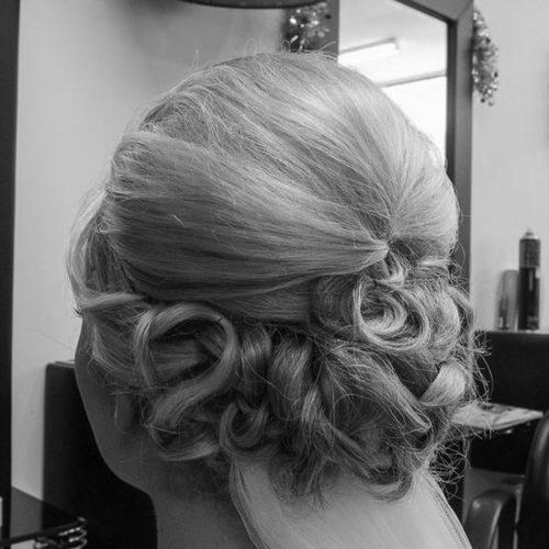 Zig Zag Hair Design - Ladies Wedding Style and Cut