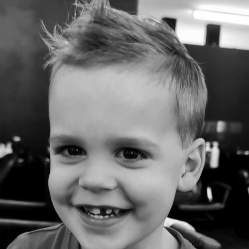 Zig Zag Hair Design - Kids Style and Cut