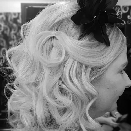 Zig Zag Hair Design - Ladies Race day Style and Cut