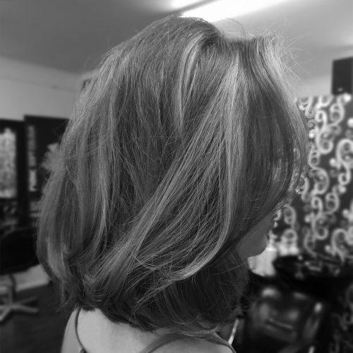 Zig Zag Hair Design - Ladies Style Cut